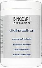 Voňavky, Parfémy, kozmetika Zásaditá kúpeľová soľ - BingoSpa Alkaline Bath Salt