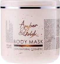 "Voňavky, Parfémy, kozmetika Maska na tvár a telo ""Jantár a zlato"" - Sezmar Collection Professional Body Mask Amber & Gold"