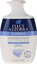 "Voňavky, Parfémy, kozmetika Tekuté jemné mydlo pre intímnu hygienu ""Classic"" - Felce Azzurra Classic Intimate Wash"