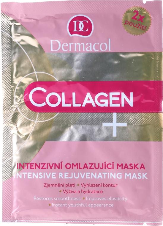 Intenzívna tvárová maska proti starnutiu - Dermacol Collagen+ Intensive Rejuvenating Mask