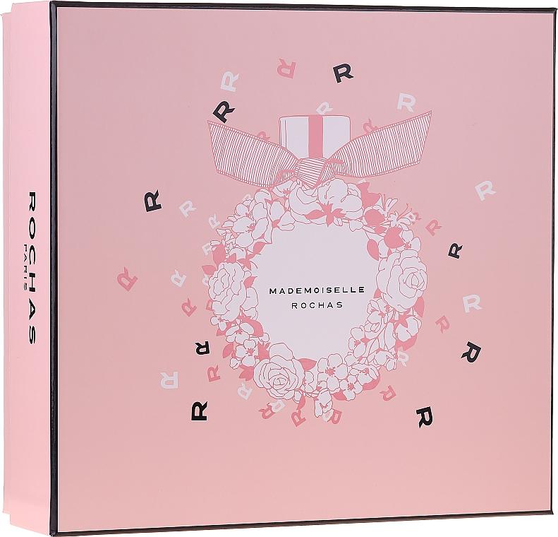 Rochas Mademoiselle Rochas - Sada (edp/50ml + b/lot/50ml + sh/gel/50ml)