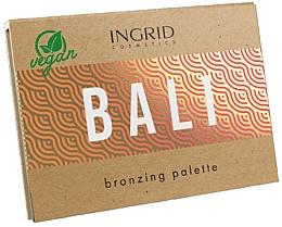 Voňavky, Parfémy, kozmetika Paleta bronzerov na tvár - Ingrid Cosmetics Bali Bronzing Palette