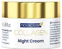 Voňavky, Parfémy, kozmetika Nočný krém s kolagénom na tvár  - Novaclear Collagen Night Cream