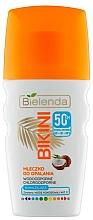 Voňavky, Parfémy, kozmetika Kokosové mlieko na telo s ochranou pred slnkom - Bielenda Bikini Coconut Milk SPF 50