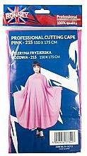 Voňavky, Parfémy, kozmetika Kadernícky plášť, ružový - Ronney Professional Cutting Cape