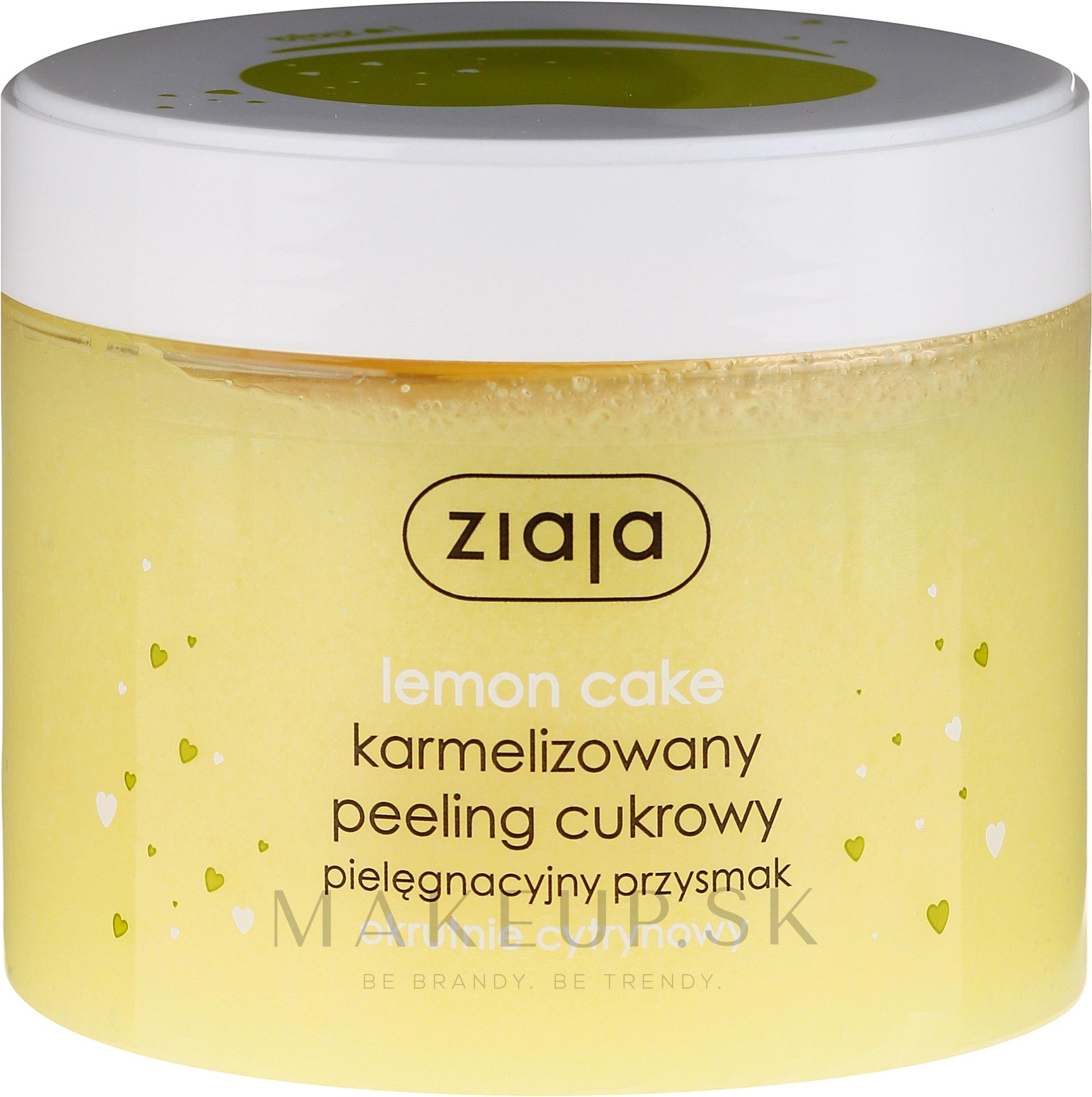 """Cukrový peeling na tvár """"Citrónový koláč"""""""" - Ziaja Sugar Body Peeling — Obrázky 300 ml"""