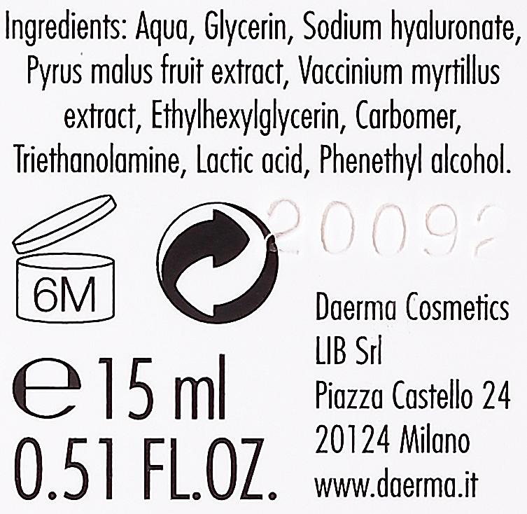 Očné sérum proti vakom a tmavým kruhom - Daerma Cosmetics Eyes Serum Puffiness & Dark Circles — Obrázky N2