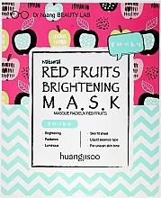 Voňavky, Parfémy, kozmetika Rozjasňujúca látková maska na tvár - Huangjisoo Red Fruits Brightening Mask