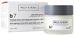 Voňavky, Parfémy, kozmetika Krém proti škvrnám pre kombinovanú a mastnú pleť - Bella Aurora B7 Combination/Oily Skin Daily Anti-Dark Spot Care
