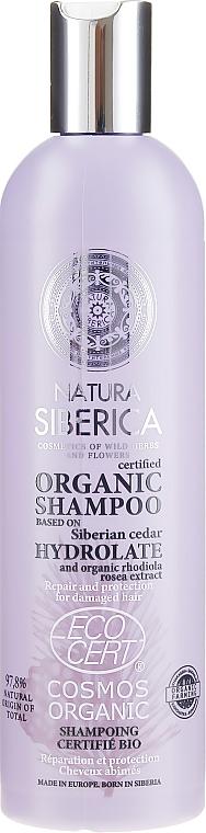 Šampón pre poškodené vlasy - Natura Siberica Certified Organic Repair & Protection Shampoo