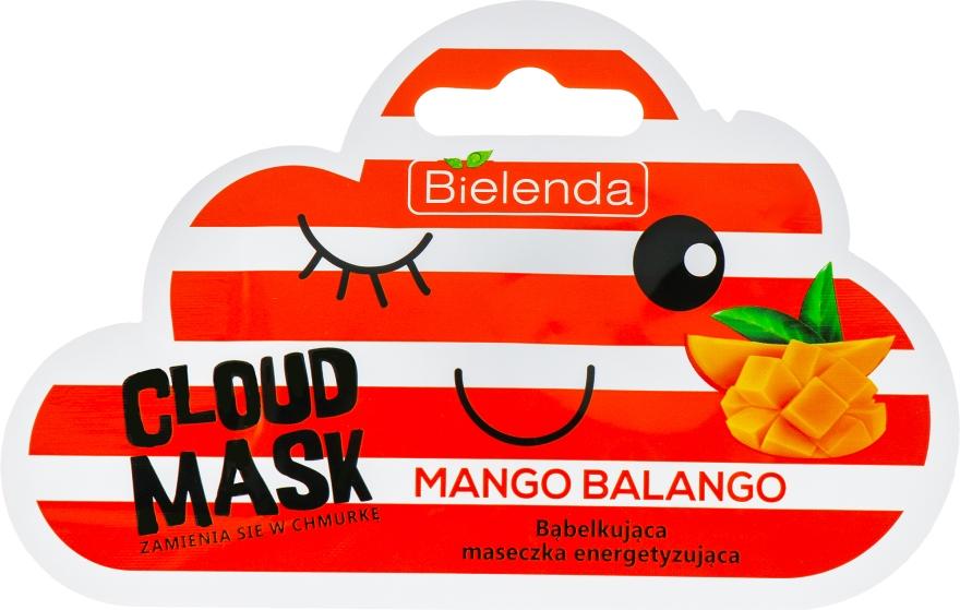 """Maska-mrak tvár """"Mango"""" - Bielenda Cloud Mask Mango Balango"""