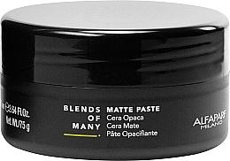 Voňavky, Parfémy, kozmetika Matná pasta na vlasy so strednou fixáciou - Alfaparf Milano Blends Of Many Matte Paste