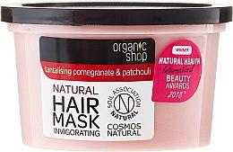 """Maska na vlasy """"Granátové jablko a pačuli"""" - Organic Shop Mask Pomegranate and Patchouli — Obrázky N2"""