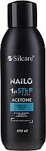 Voňavky, Parfémy, kozmetika Čistič gélových lakov na nechty - Silcare Nailo Aceton