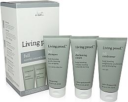 Voňavky, Parfémy, kozmetika Sada - Living Proof Full (shm/60ml + cond/60ml + h/cr/60ml)