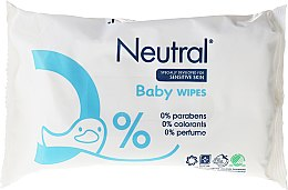 Voňavky, Parfémy, kozmetika Detské vlhčené obrúsky - Neutral Baby Wet Wipes