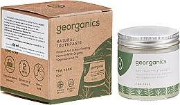 Voňavky, Parfémy, kozmetika Prírodná zubná pasta - Georganics Tea Tree Natural Toothpaste