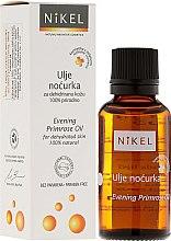 Voňavky, Parfémy, kozmetika Olej prvosienka večerný - Nikel Evening Primrose Oil