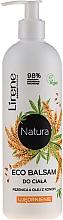 """Voňavky, Parfémy, kozmetika Balzam na telo """"Pšenica a konopný olej"""" - Lirene Natura Eco Balm"""