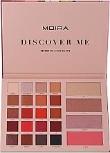 Voňavky, Parfémy, kozmetika Paleta na make-up - Moira Discover Me Destiny Eye & Face Palette