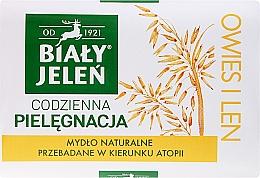 Voňavky, Parfémy, kozmetika Hypoalergénne mydlo, extrakt z ovsa - Bialy Jelen Hypoallergenic Soap Natural Oats