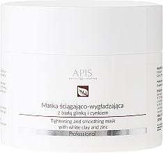 Voňavky, Parfémy, kozmetika Maska na tvár s bielou hlinou - APIS Professional Tightening And Smoothing Mask