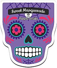 Voňavky, Parfémy, kozmetika Textilná maska na tvár - Dr Mola Sweet Masquarade Pureple Fruits mask