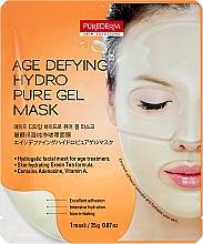 Voňavky, Parfémy, kozmetika Hydrogélová maska anti-age na tvár - Purederm Age Defying Hydro Pure Gel Mask