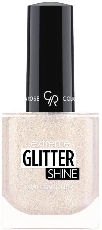 Lak na nechty - Golden Rose Extreme Glitter Shine Nail Lacquer (10.2 ml)