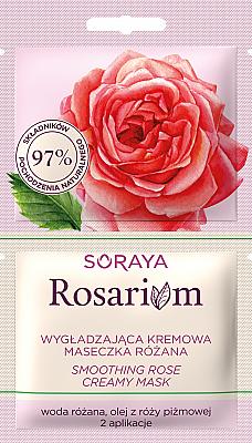 Vyhladzujúca krémová maska s ružou - Soraya Rosarium Smoothing Cream Rose Mask