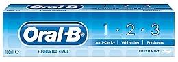 Voňavky, Parfémy, kozmetika Zubná pasta - Oral B 1-2-3 Fresh Mint Toothpaste