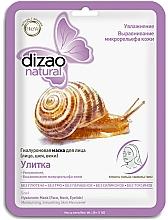 """Voňavky, Parfémy, kozmetika Hyalurónová pleťová maska """"Slimák """" - Dizao Natural Snail Hyaluronic Mask"""