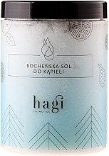 Voňavky, Parfémy, kozmetika Soľ do kúpeľa s esenciálnym jedlým olejom - Hagi Bath Salt