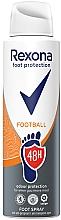 Voňavky, Parfémy, kozmetika Sprej na nohy - Rexona Football Spray