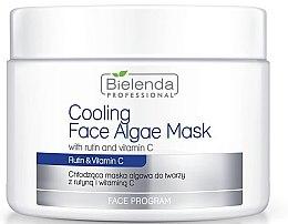 Voňavky, Parfémy, kozmetika Alginátová maska na tvár s rutínom a vitamínom C - Bielenda Professional Cooling Face Algae Mask