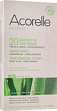 Voňavky, Parfémy, kozmetika Voskové depilačné pásiky na telo, aloe a materská kašička - Acorelle Hair Removal Strips