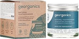 Voňavky, Parfémy, kozmetika Prírodný zubný prášok - Georganics English Peppermint Natural Toothpowder