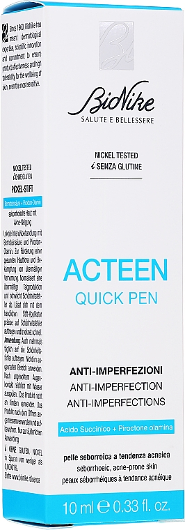 Lotion na telo - BioNike Acteen Quick Pen — Obrázky N2