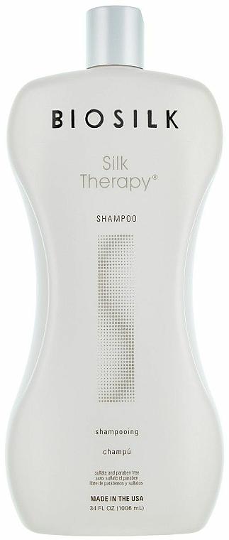 """Šampón """"Hodvábna terapia"""" - BioSilk Silk Therapy Shampoo"""