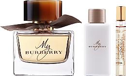 Voňavky, Parfémy, kozmetika Burberry My Burberry - Sada (edp/90ml + b/lot/75ml + edp/7,5ml)
