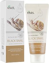 Voňavky, Parfémy, kozmetika Jemný píling s mucínom z čierneho slimáka - Ekel Natural Clean Peeling Gel Black Snail