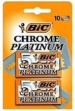 """Voňavky, Parfémy, kozmetika Sada čepelí pre stroj """"Chrome Platinum"""", 10ks - Bic"""