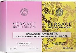 Voňavky, Parfémy, kozmetika Versace Bright Crystal - Sada (edt/30ml + edt/30ml)
