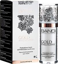 Voňavky, Parfémy, kozmetika Peptidový krém na kontúry očí - Bandi Professional Gold Philosophy Rejuvenating Peptide Eye Cream