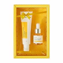 Voňavky, Parfémy, kozmetika Sada - iUNIK Propolis Vitamin Eye Cream Set (eye/cr/30ml + ser/15ml)