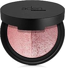 Voňavky, Parfémy, kozmetika Dvojfarebná lícenka - Aden Cosmetics Blusher Duo