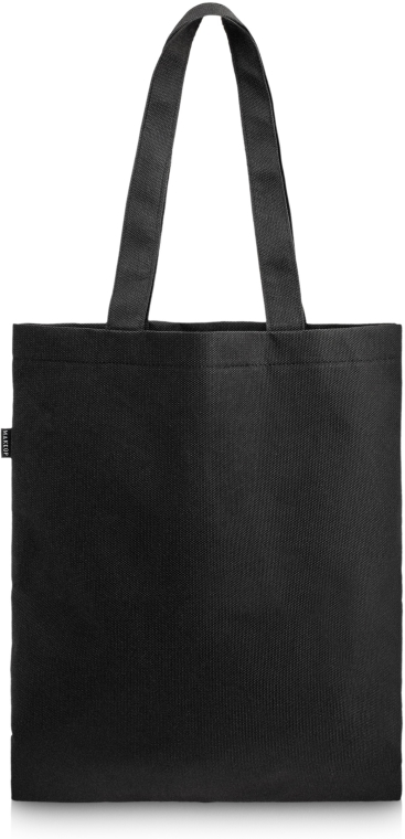 "Nákupná taška, čierna ""Perfect Style"" - MakeUp Eco Friendly Tote Bag Black"