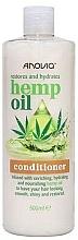 Voňavky, Parfémy, kozmetika Kondicionér na vlasy s konopným olejom - Anovia Hemp Oil Conditioner Restores and Hydrates