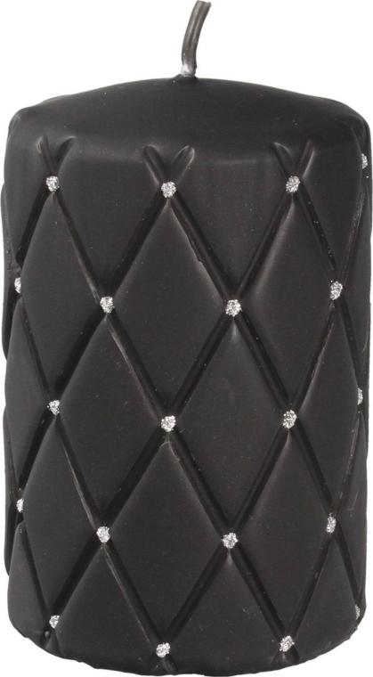 Dekoratívna sviečka, 7x10 cm, čierna - Artman Florence Mat — Obrázky N1
