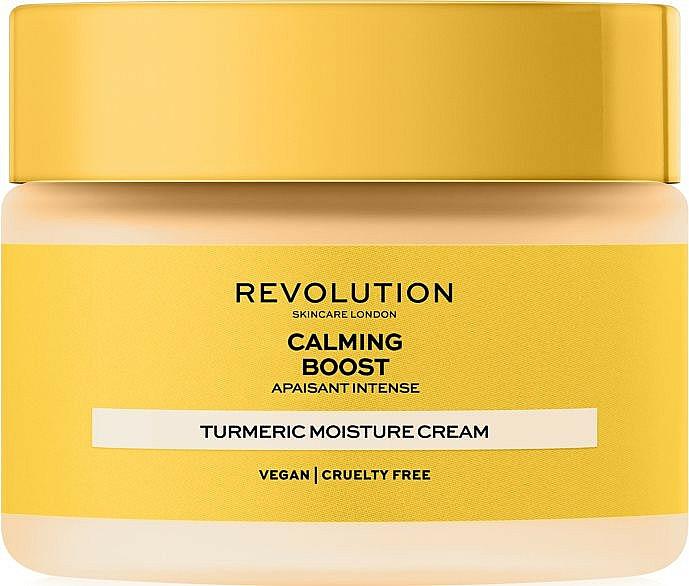 Antioxidačný krém na tvár - Revolution Skincare Boost Calming Turmeric — Obrázky N1